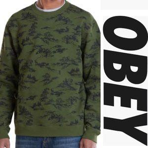 Obey Propaganda Darcell Crewneck Sweatshirt XXL